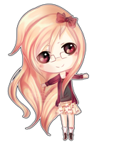 Melody Chibi by cloudylicious
