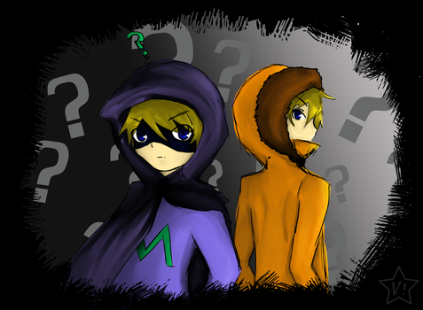 Mysterion sure is... by V-nya