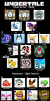 undertale AU character (evrytale) meme v1 by kill-soni
