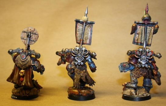Wolf Guard Pack leaders' back by Aeteros