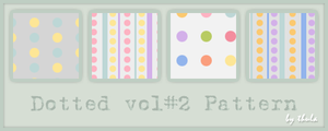 Dotted vol.2 Pattern by ThulaMarquise