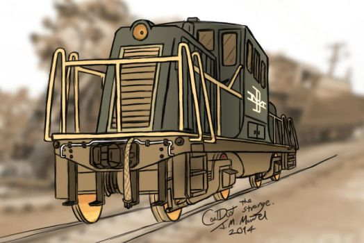 44 tonner COLOR by Anime-Apothecary