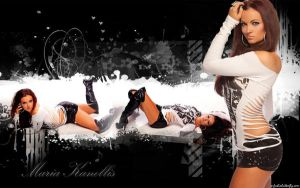 Maria Kanellis Wallpaper by LadieButterfly