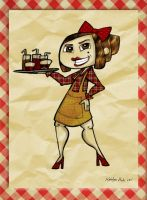 Waitress by Ketey