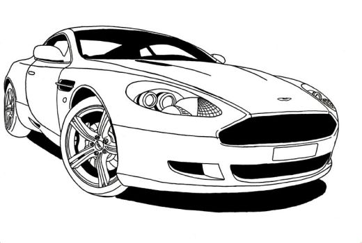Aston Martin for 2008 by muzz-dogg
