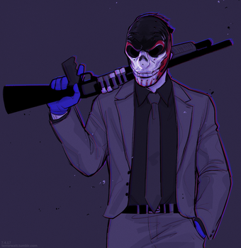 Mayhem Dressed in a Suit by vampiriism