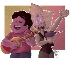 [Request] Steven and Peridot by DarkSunshine92