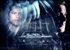 Destiel - Angels are watching over you by Gatergirl79