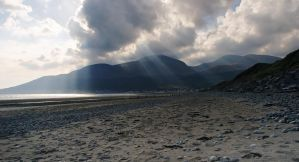 Mourne Mountains at Newcastle by Gerard1972