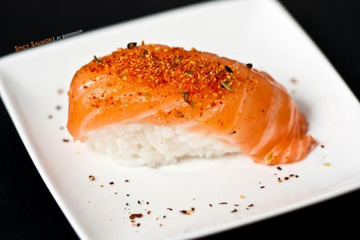 Spicy salmon by deathtiny42