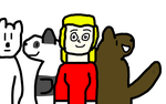 Sammy and We bare bears by dmonahan9