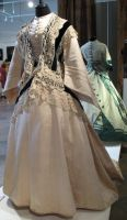 White Victorian Dress Stock II by Avestra-Stock