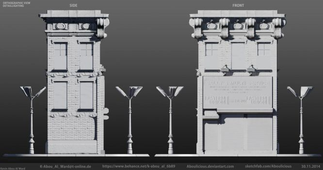 Building: Sally's Multi Service Orthographic DL by Aboulicious