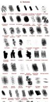 Krita Predefined Brushes - ref sheet by White-Heron