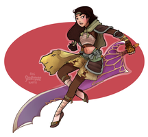 Warrior Mulan by Skirtzzz