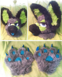 Ryder - Fursuit by MumzyHyenaBat