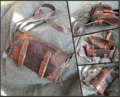 Patchwork Pouch by Astanael