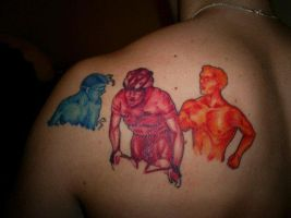ironman tattoo inked partial by TylerH200