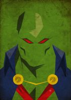 168 Martian Manhunter by ColourOnly85