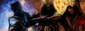 Assassins Creed Facebook Cover by Darckhuman