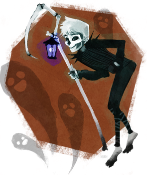 skeleton jack (halloweenies #1) by desude