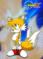 More sonic x type art - Tails by Trakker