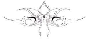 Tribal Butterfly 03 by Ashes360