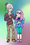Valentine Shipping - MidoriXOtori: Sing with me by Halowing