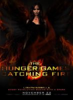 The Hunger Games: Catching Fire Poster - Katniss by LightningBella