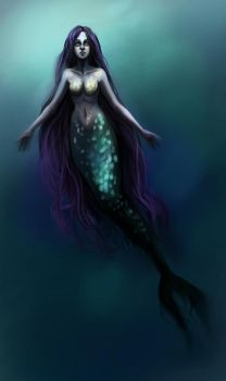 Underwater || with painting process by fcnjt