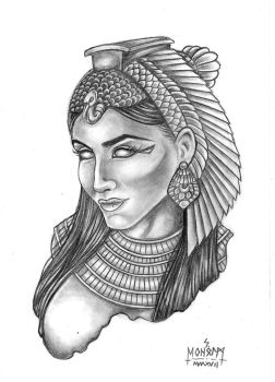 Egyptian queen by Stafdk