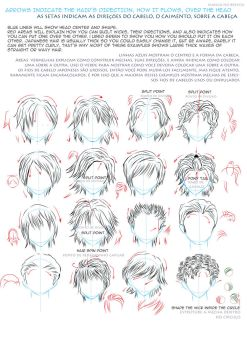 hair style drawings drawing hair on all tutorials deviantart 7760