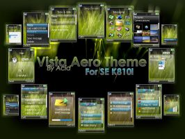SE K810i Vista Aero Theme v1.1 by AcidOverdoze