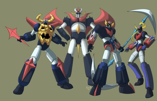 Giant Robots WIP by Sean-Loco-ODonnell