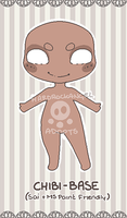 P2U -- Chubby Chibi Base [70 points] by Hardrockangel-Adopts