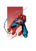 spidey in color by yoanndurand