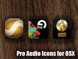 Pro Audio Icons for OSX by robduckyworth