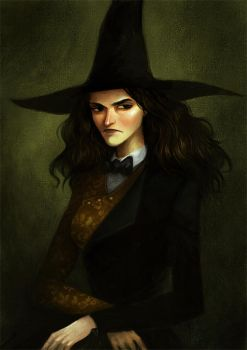 Young witch by Grimhel