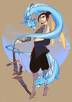 Hanzo by NeakoInAMuffin