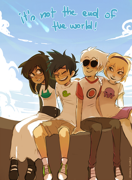 Not The End Of The World by ikimaru-art