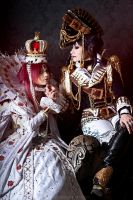 TrinityBlood: Esther and Jane by Astarohime