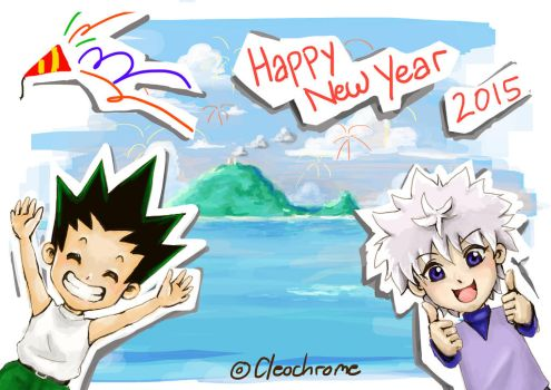 Happy New Year 2015!! by Cleochrome