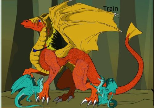 Train (New Look) by trainman666