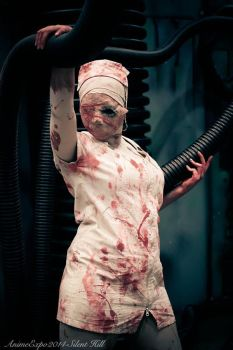 Bubblehead Nurse - Silent Hill by CoFFeH