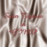 Satin Texture in GIMP by fence-post