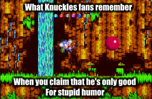 What Knuckles Fans Remember by TheSwordLegion