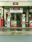 Vintage Gas Station by thiselectricheart