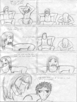Crossover fancomic by Jadedanddark
