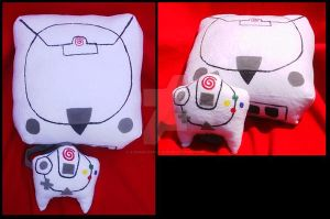 Sega Dreamcast System by A-chan--Creations