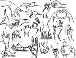 Hand Reference by Vmillzy